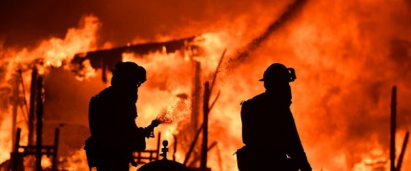 California homeowners insurance private firefighters